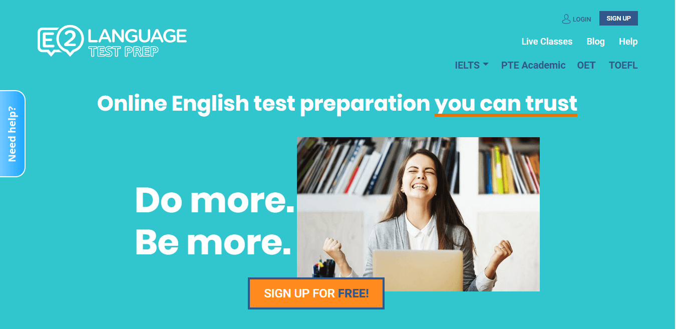 E2Language | PTE, OET, IELTS, TOEFL Online Courses  Try for FREE now!
